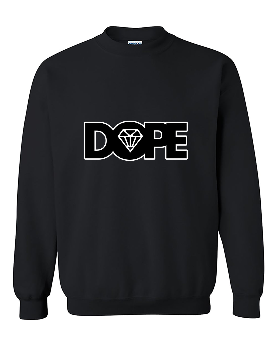 Black Dope Diamond Dope Crewneck Sweater