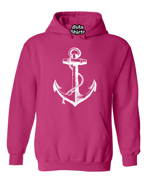 Anchor Nautical Sea Beach Ship Capitan Sailor Unisex Hoodie