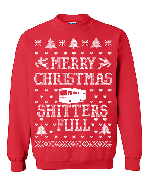 New Merry Christmas Shitters Full Ugly Christmas Seater Christmas Sweatshirt gift Crewneck Sweater