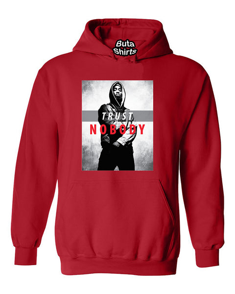 Tupac Trust Nobody 2pac Hip Hop Legend Rap Music Legend Unisex Hoodie