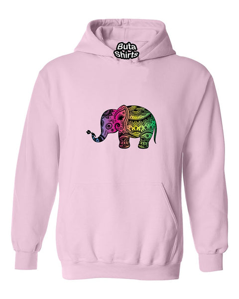 Cute Elephant Fasion Native American Indian Unisex Hoodie