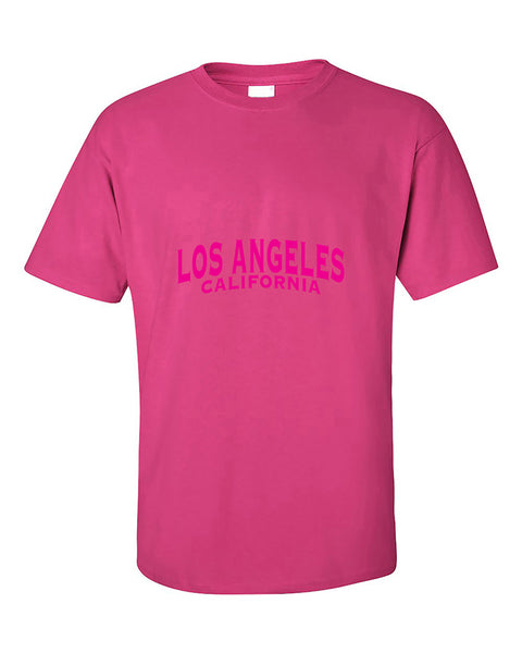 los-angeles-pink-unisex-fasion-california-t-shirt