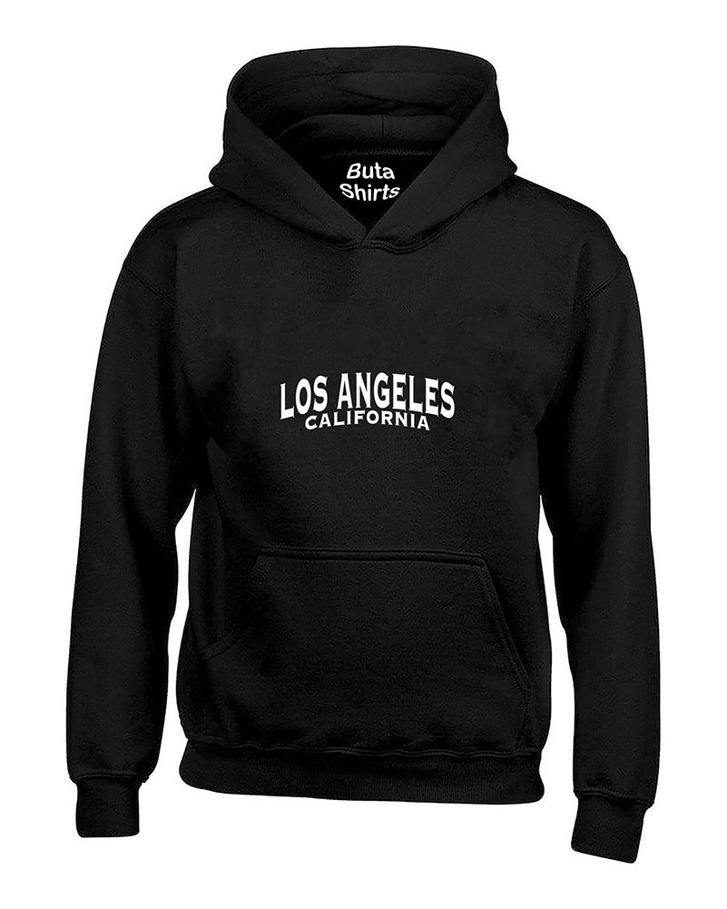 Los Angeles White Fasion California Unisex Hoodie