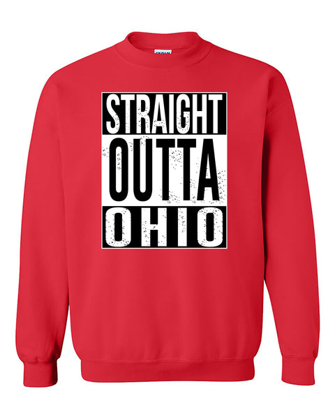 Straight Outta Ohio Fashions Crewneck Sweater