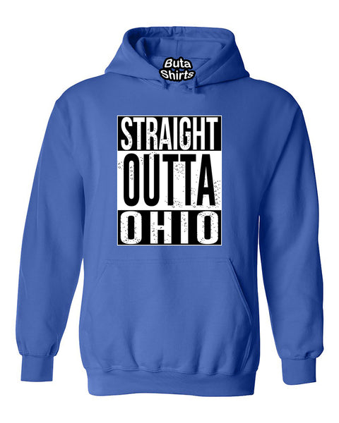 Straight Outta Ohio Fashions Unisex Hoodie