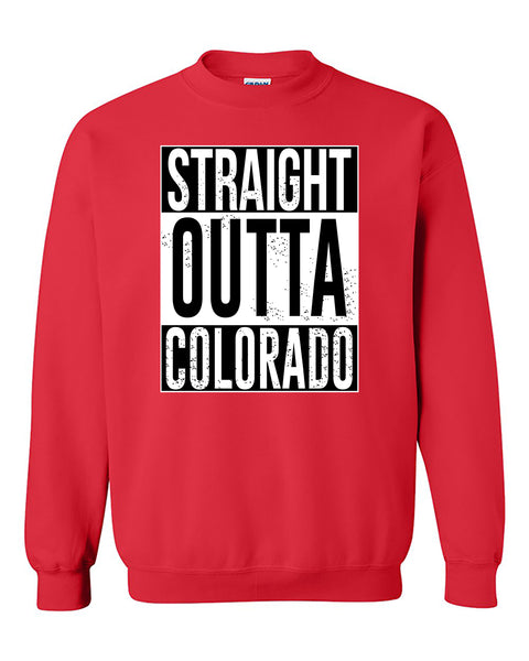 Straight Outta Colorado Fashions Crewneck Sweater