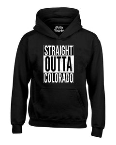 Straight Outta Colorado Fashions Unisex Hoodie