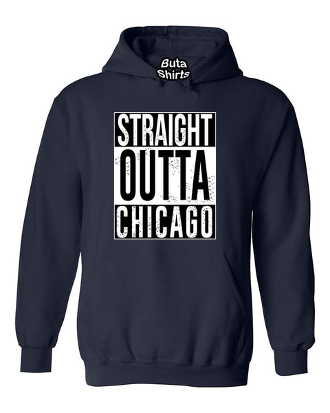 Straight Outta Chicago Fashions Unisex Hoodie