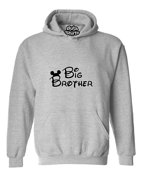 Cartoon Writing Big Brother Fahions Unisex Hoodie