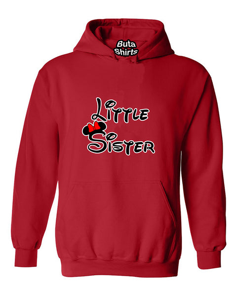 Cartoon Writing Little Sister Fahions Unisex Hoodie