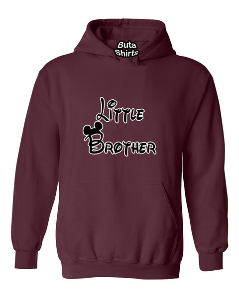 Cartoon Writing Little Brother Fahions Unisex Hoodie