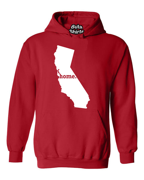 California Map Home State Native American Unisex Hoodie