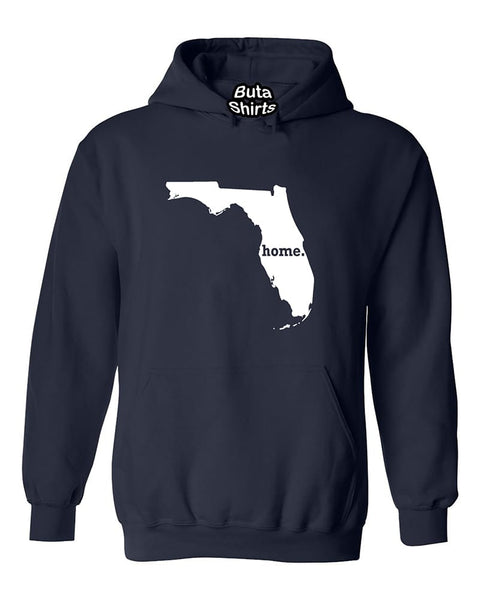 Florida Map Home State Native American Unisex Hoodie