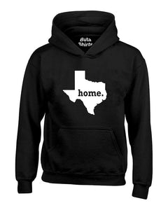 Texas Map Home State Native American Unisex Hoodie
