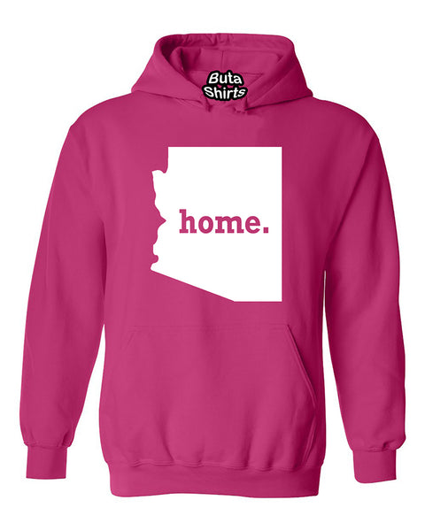 Arizona Map Home State Native American Unisex Hoodie