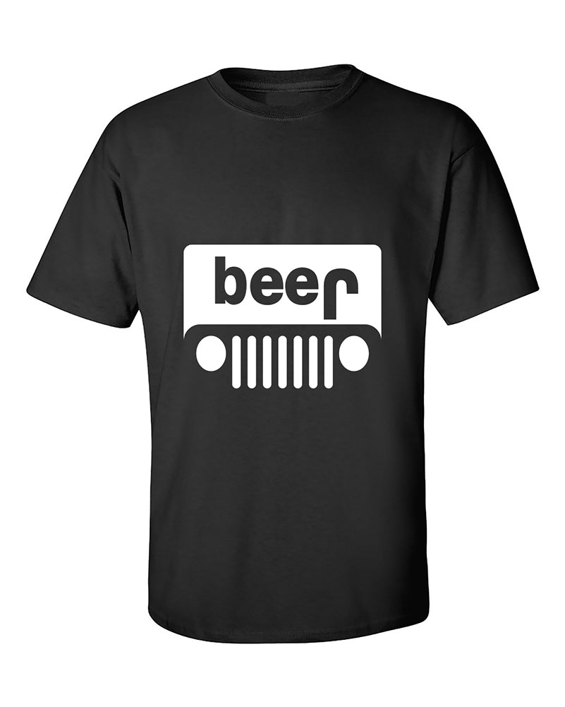 Beer Jeep Funny Drinking Drinking Partys TShirt Buta Clothing - Jeep logo t shirt