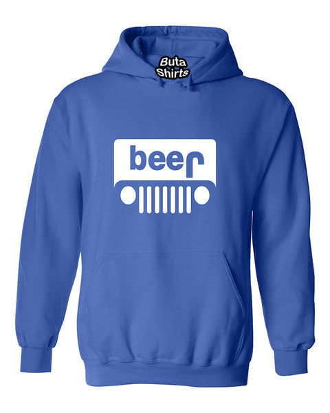 Beer Jeep Funny Drinking Drinking Partys Unisex Hoodie