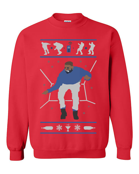 Ugly Christmas Sweater 1-800-Hotline bling Drake inspired sweatshirt, Xmas gift, Merry Christmas Crewneck Sweater