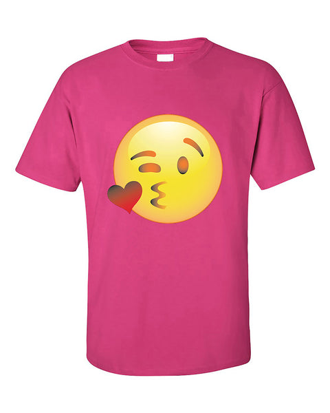 wink-face-emoji-funny-winking-eye-smile-face-emoji-t-shirt