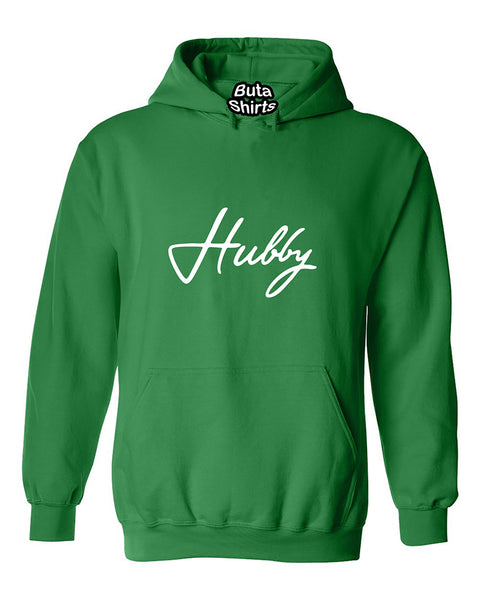 Hubby Matching Couple Valentine's Day Gift Unisex Hoodie