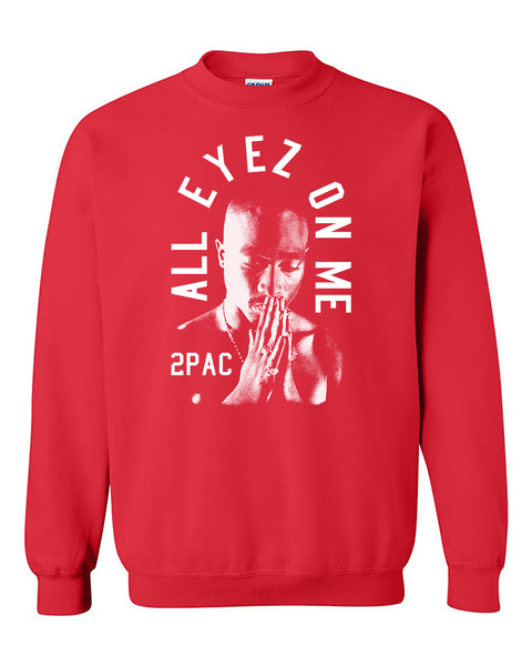 2Pac  Hip hop legend Rap music legend Tupac Thug life Crewneck Sweater