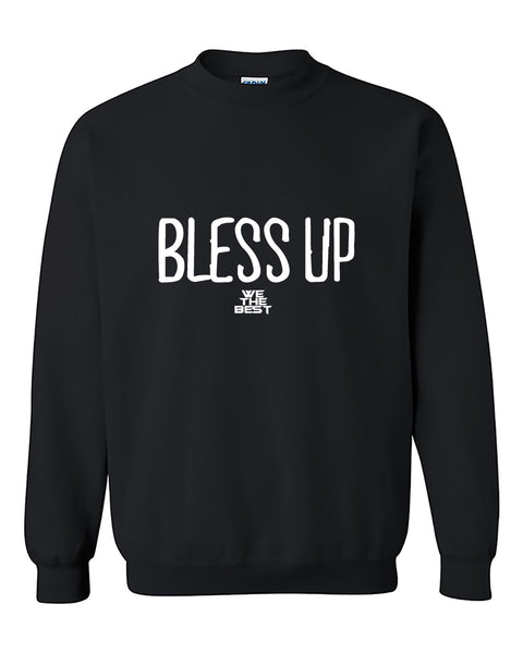 Bless Up Blessed Crewneck Sweater