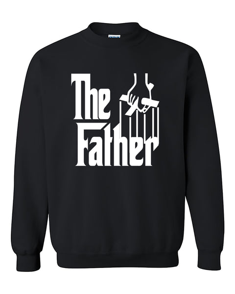 The Father Funny Father's Day gift The Godfather Style Crewneck Sweater