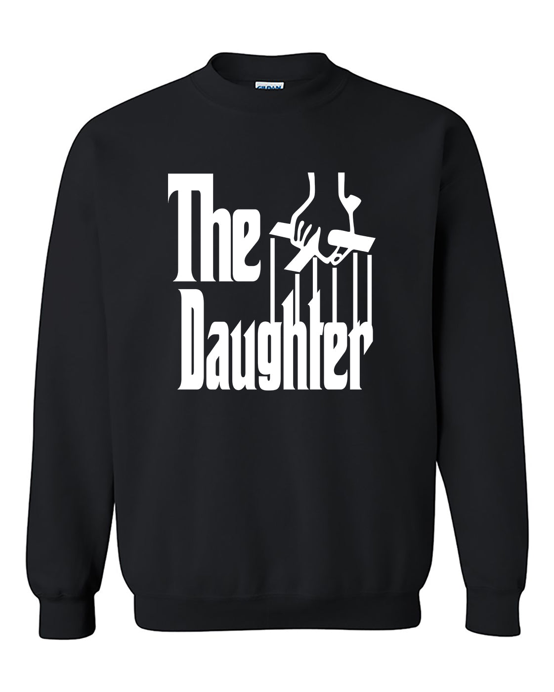 The Daughther The Godfather Style Crewneck Sweater