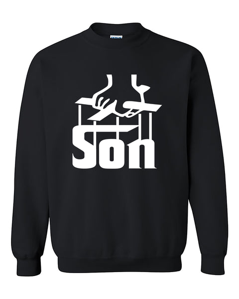 The Son The Godfather Style Crewneck Sweater