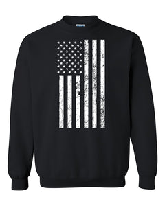 US Flag American, 4th Of July Patriotic Crewneck Sweater