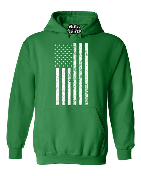 US Flag American 4th Of July Patriotic Unisex Hoodie