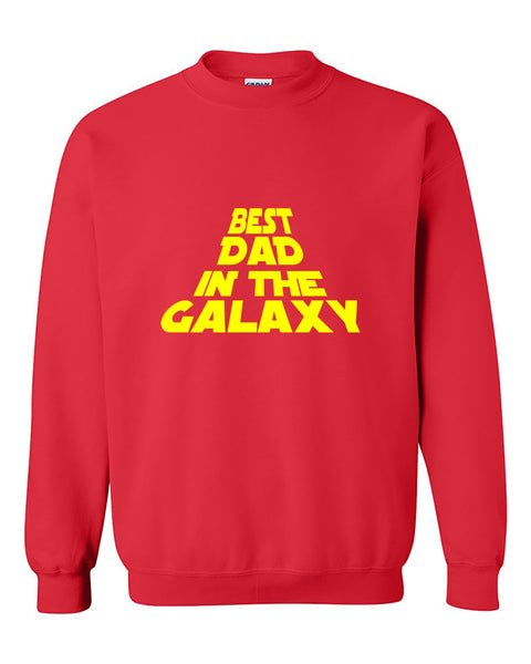 Best Dad In The Galaxy Father's Day Gift Crewneck Sweater