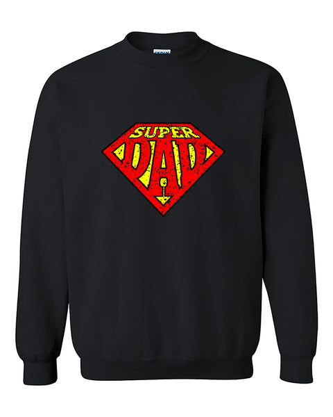Superdad Super Dad Best Dad ever Father's Day gift Crewneck Sweater