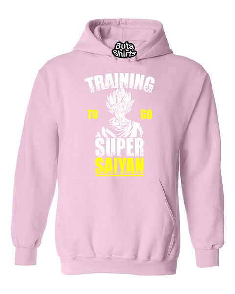 Training To Go Super Sayan Funny Workout Gyms Unisex Hoodie
