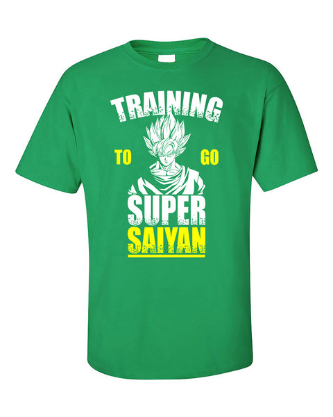 training-to-go-super-sayan-funny-workout-gyms-t-shirt