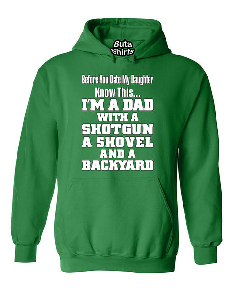 Before You Date My Daughter Know This Im A Dad Fathers Day gift Unisex Hoodie