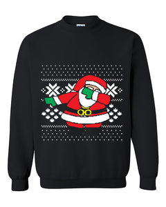 New Santa Dabbing Sweater Santa Claus Dabb Dance Ugly Christmas Sweater Christmas Gift Crewneck Sweater