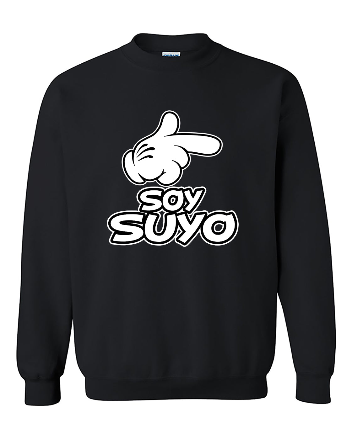 Soy Suyo El Es mio Couples Valentine's Day Gift Crewneck Sweater