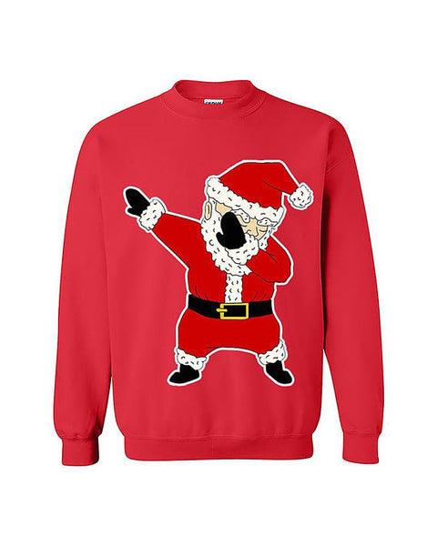 Dab Dance Santa Ugly Christmas Unisex Sweater