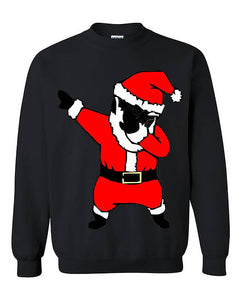 Dab Dance Santa Black Christmas Unisex Sweater