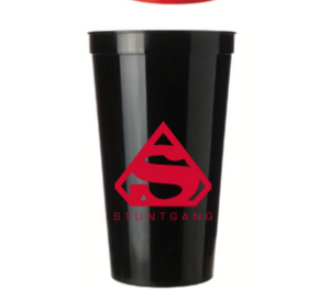 Black Stunt Gang 22 Ounce Stadium Cup
