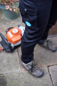 Trouser legs. Workwear for Women. Hoydens; Tough trousers for tough women.