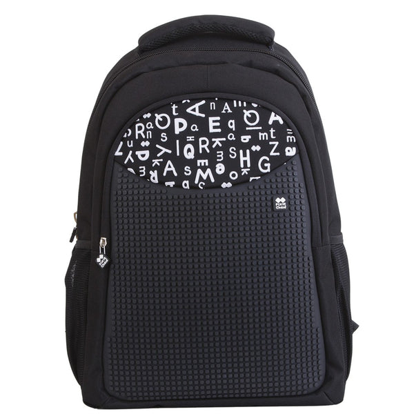 Letter Black School Bag
