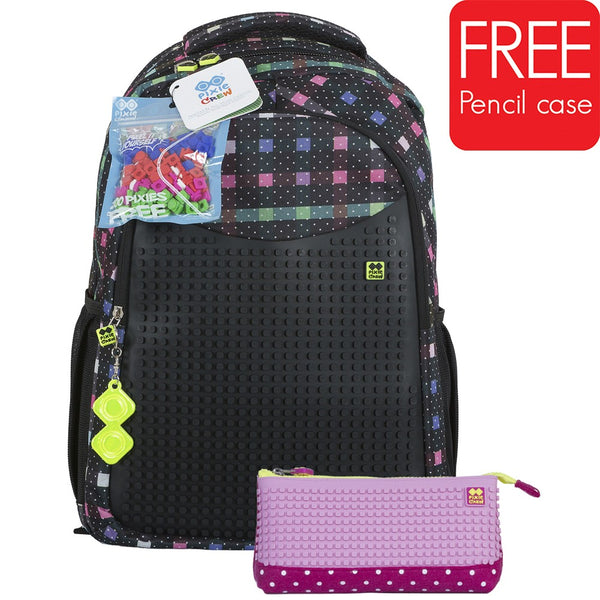 NIGHT LIGHT School Bag  + Pencil Case SET