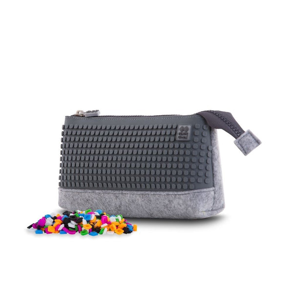 Grey Medium Pencil Case