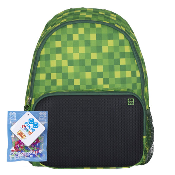 Green Slots Backpack