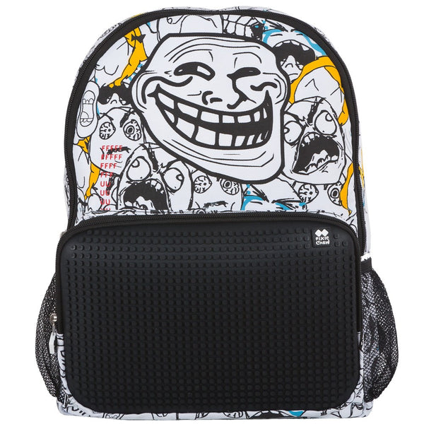 Memes Funny face Backpack