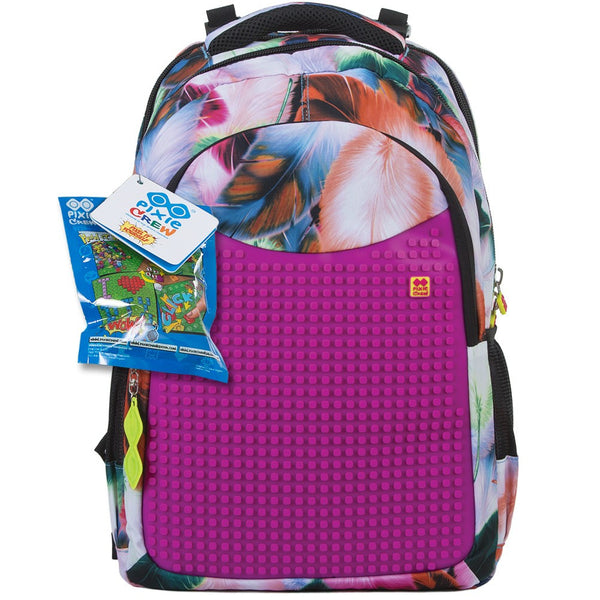 Fuchsia School Bag