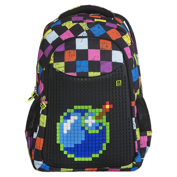 Multicolour Slots School Bag
