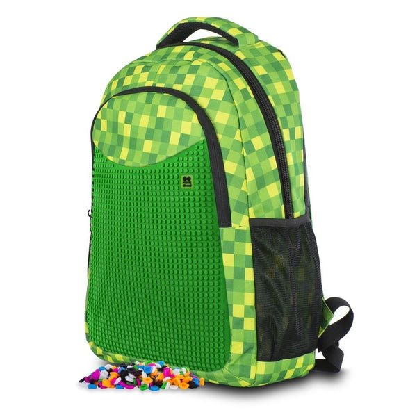 Green Slots School Bag